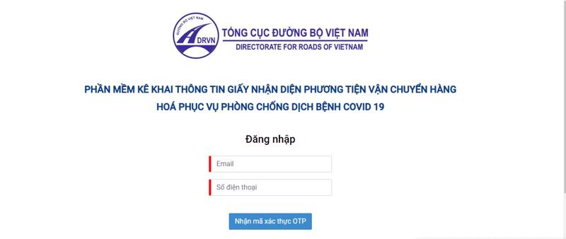 Để đăng ký mới, doanh nghiệp kinh doanh vận tải truy cập địa chỉ https://vantai.drvn.gov.vn. Sau khi nhận được mã QR mới, doanh nghiệp in và dán lên xe.
