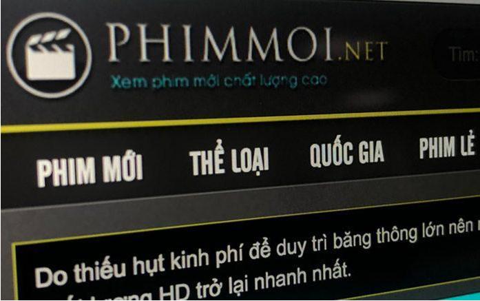 Phimmoi được xem là website phim lậu lớn nhất Việt Nam.