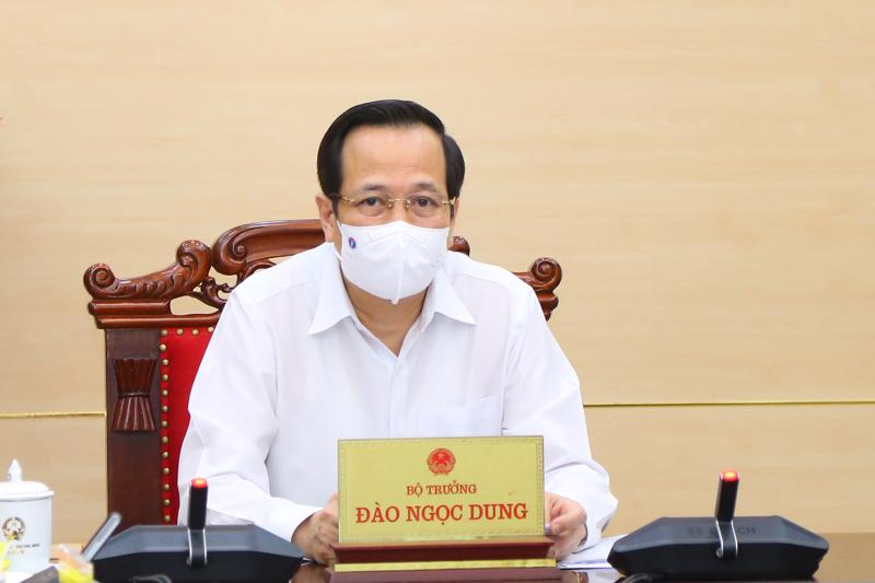 Bộ trưởng Bộ LĐTB7XH Đào Ngọc Dung.