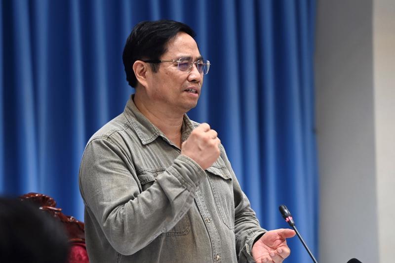 Thủ tướng Phạm Minh Chính làm việc với lãnh đạo tỉnh cùng lãnh đạo 171 xã, phường của Đồng Nai.