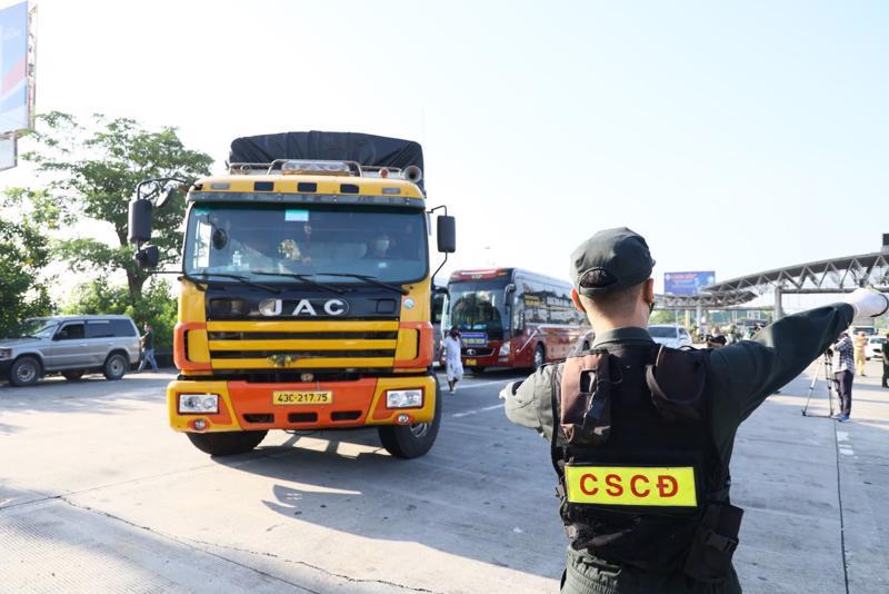Siết chặt kiểm soát tại 23 chốt vào Thủ đô, kể cả xe công vụ, xe cứu thương - Ảnh sưu tầm