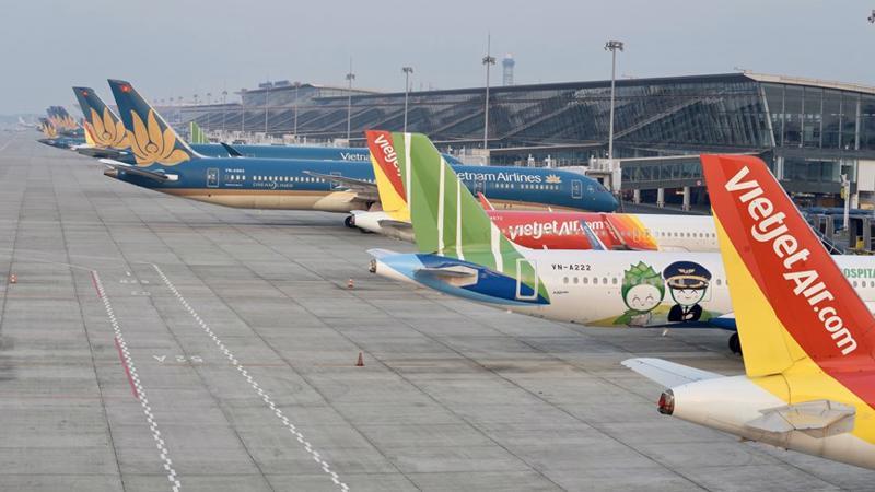 Bamboo Airways tiếp tục dẫn đầu tỷ lệ chuyến bay cất cánh đúng giờ.