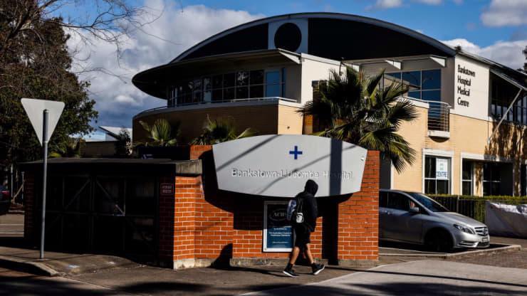 Một bệnh viện ở Sydney, Australia hôm 24/7 - Ảnh: Getty/CNBC.