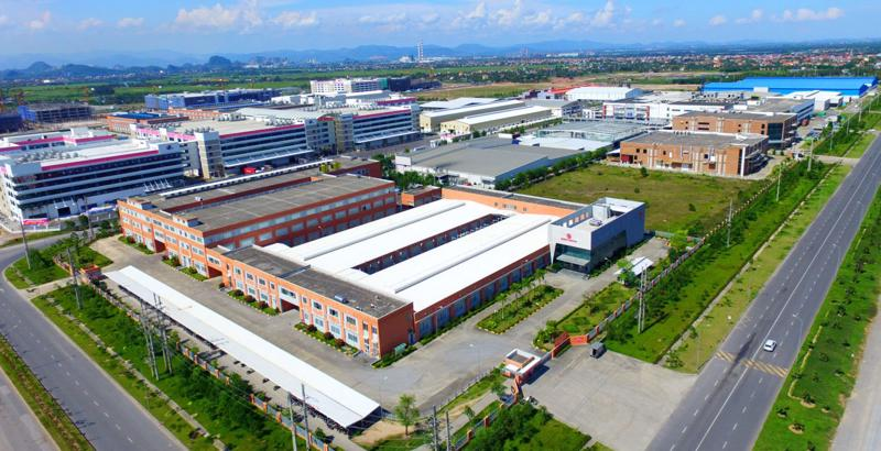 Đến năm 2030, Việt Nam sẽ có khoảng 558 khu công nghiệp, khu chế xuất.