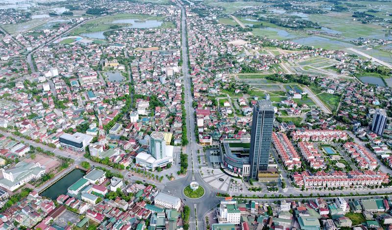 Trung tâm TP. Hà Tĩnh, tỉnh Hà Tỉnh.