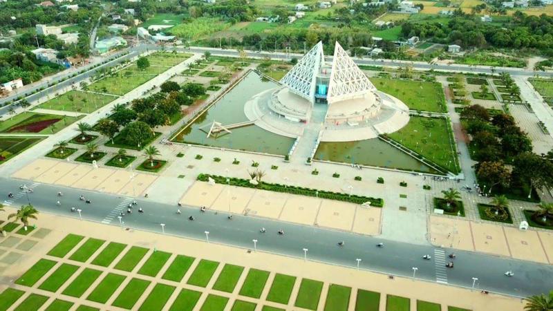Trung tâm TP. Phan Rang - Tháp Chàm, tỉnh Ninh Thuận.