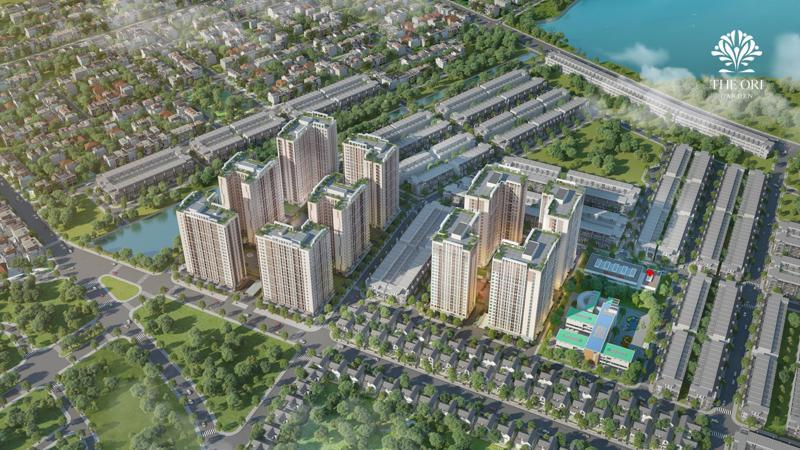 """Định hướng """"chốn an cư"""" của dự án The Ori Garden được quy hoạch dựa trên bài toán dài hạn của """"thành phố đáng sống nhất""""."""
