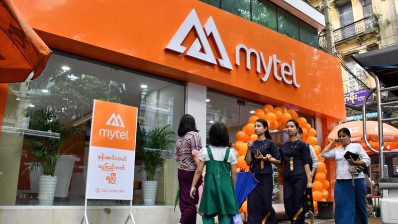 Công ty Telecom International Myanmar (Mytel) thuộc Tổng công ty CP Đầu tư Quốc tế Viettel.