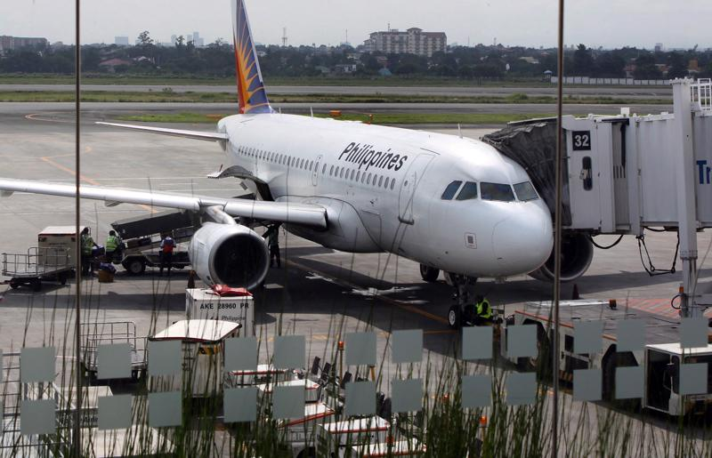 Một máy bay của Philippines Airlines - Ảnh: Bloomberg.