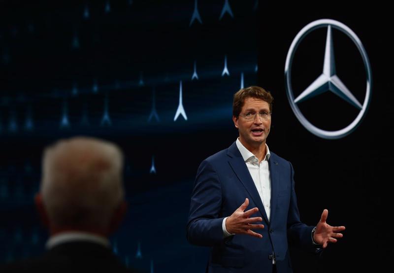 Ông Ola Kallenius, Tổng giám đốc Daimler AG - Ảnh: Bloomberg