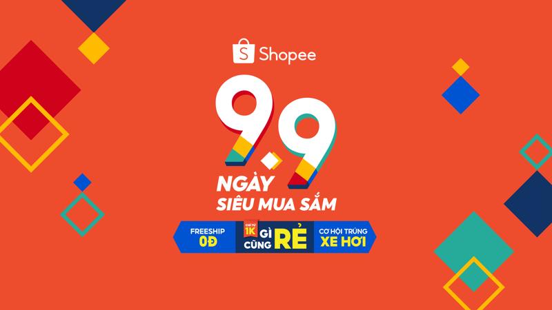 Tại sự kiện 9.9 Ngày siêu mua sắm, Shopee sẽ mang đến cho người dùng những ưu đãi và quà tặng hấp dẫn nhất.