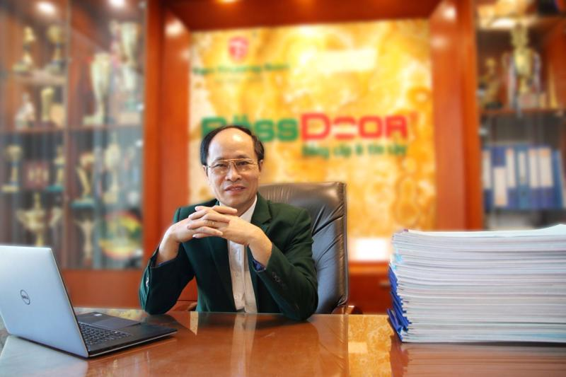 Chân dung ông Nguyễn Sỹ Ngọc - Chủ tịch Hội đồng Quản trị Tập đoàn Tân Trường Sơn.