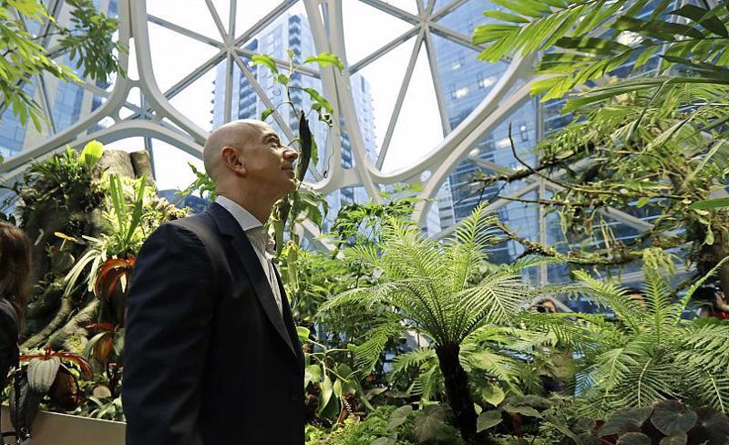 Tỷ phú Jefff Bezos - Ảnh: Getty Images