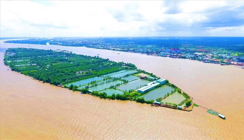 Khu du lịch Cồn Sơn, thuộc phường Bùi Hữu Nghĩa, quận Bình Thủy, TP.Cần Thơ.