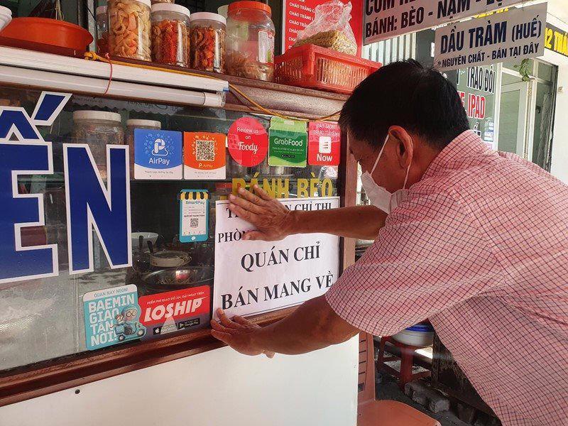 TP.HCM cho phép mở lại dịch vụ ăn uống, nhưng chỉ bán mang đi