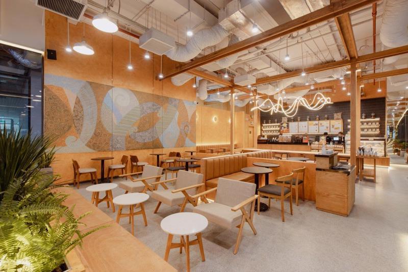 Ảnh minh họa: Seedcom bao gồm các startup khá đình đám trong đó có chuỗi cà phê The Coffee House
