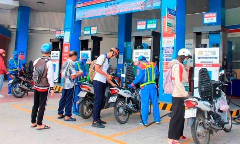 Giá xăng dầu tăng từ 15h00, ngày 25/09/2021.