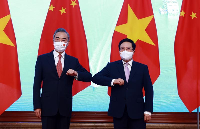 Kể từ sau Phiên họp lần thứ 12 (tháng 7/2020) đến nay, quan hệ Việt-Trung duy trì xu thế phát triển tích cực.