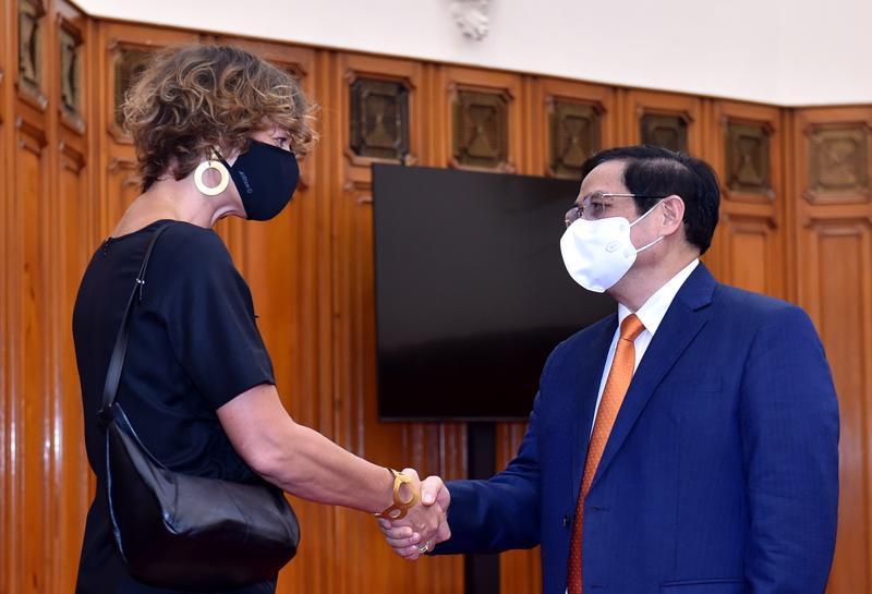 Thủ tướng Chính phủ Phạm Minh Chính đã tiếp Đại sứ Hà Lan Elsbeth Akkerman.