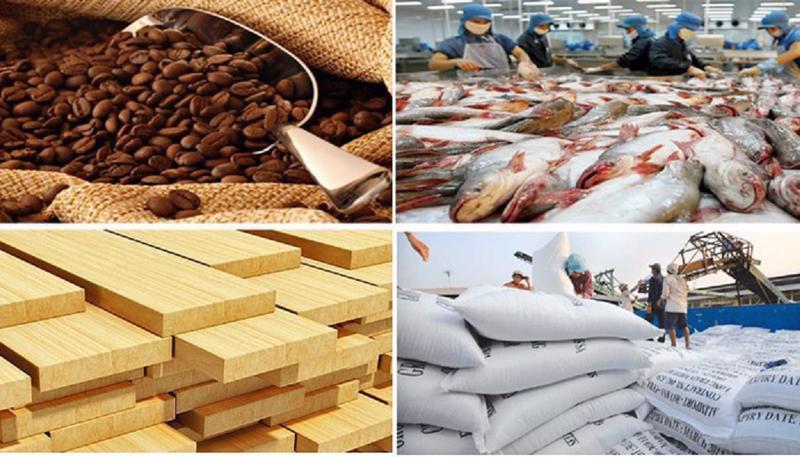 Xuất nhập khẩu ngành nông nghiệp 8 tháng đầu năm 2021