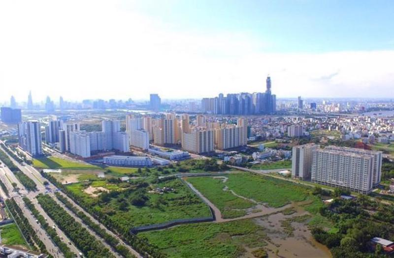 Vùng ven chiếm ưu thế trên thị trường bất động sản 2021.
