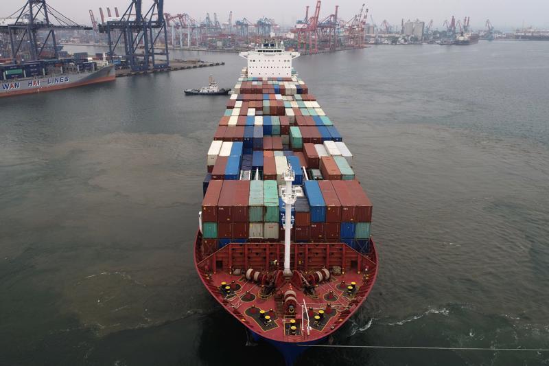 Giá cước vận tải bằng tàu container tăng kỷ lục - Ảnh: Getty Images