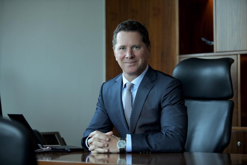 Ông Tim Evans, Tổng giám đốc HSBC Việt Nam