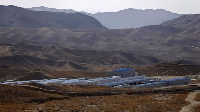 Hoạt động tại mỏ đồng Mes Aynak ở tỉnh Logar,Afghanistan của Trung Quốc bị đình trệ trong hơn một thập kỷ do lo ngại về an ninh - Ảnh: Reuters.