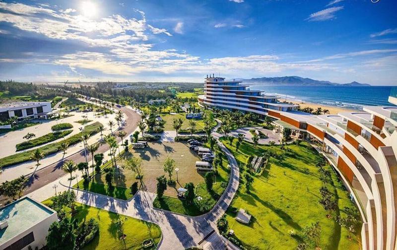 Một góc Khu kinh tế Nhơn Hội, Bình Định.
