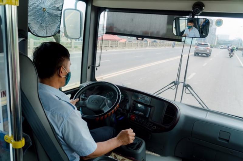 Xe vận tải hoàn thiện lắp camera giám sát trước ngày 31/12 để giám sát lái xe và phòng chống dịch Covid.