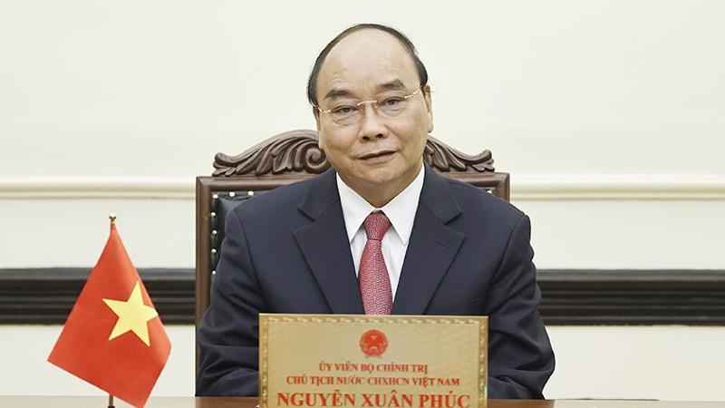 Chủ tịch nước Nguyễn Xuân Phúc - Ảnh: VGP
