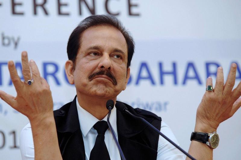 Subrata Roy, chủ tịch tập đoàn đa ngành Sahara - Ảnh: AFP