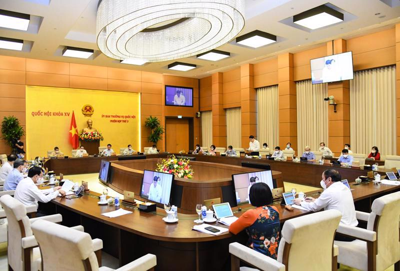 The third session of the National Assembly Standing Committee. Source. Quochoi.vn