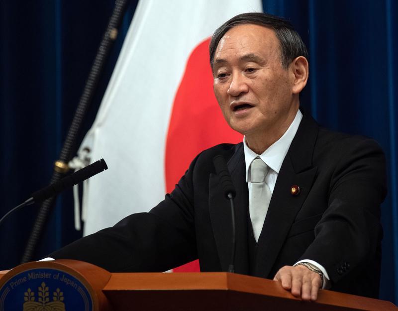 Thủ tướng Nhật Bản Suga Yoshihide - Ảnh: JPT