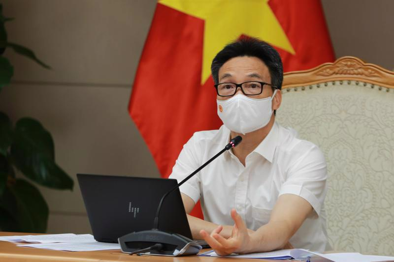 Deputy Prime Minister Vu Duc Dam chaired the meeting.