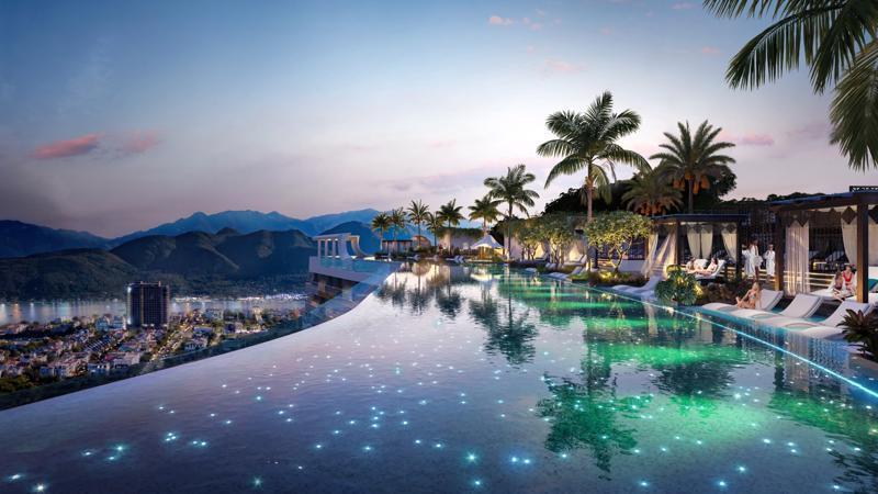 Phối cảnh căn hộ khách sạn sở hữu lâu dài ANCruising Nha Trang đang được giới đầu tư đặc biệt chủ ý.