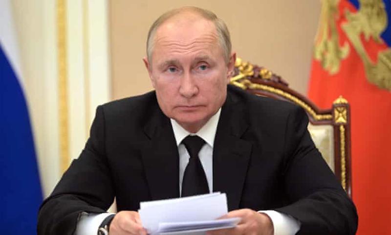 Tổng thống Liên bang Nga Vladimir Putin - Ảnh: AP