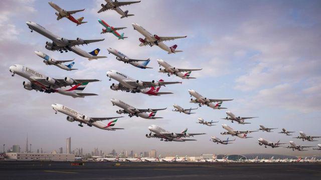 Thị trường hàng không thương mại và dịch vụ phục hồi sau đại dịch.