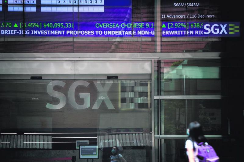 Trong nửa đầu năm 2021, Singapore chỉ thu hút được 3 IPO với tổng số vốn huy động được là 200 triệu USD - Ảnh: Straits Times