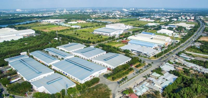 Các khu công nghiệp thu hút một lượng vốn đầu tư