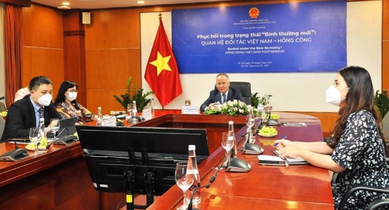 Việt Nam - Hồng Công nhất trí thúc đẩy quan hệ hợp tác thương mại và đầu tư.