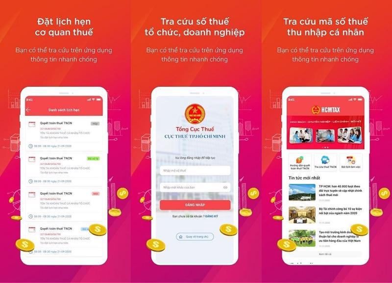 Người dân, doanh nghiệp TP. Hồ Chí Minh có thể nộp thuế trên điện thoại di động.