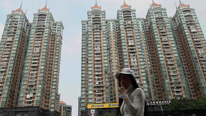 Một dự án của Evergrande ở Trung Quốc - Ảnh: FT.