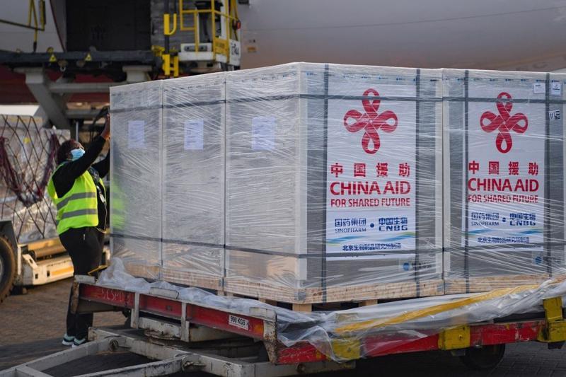 Trung Quốc dự kiến xuất khẩu 2 tỷ liều vaccine Covid-19 trong năm 2021 - Ảnh: Xinhua