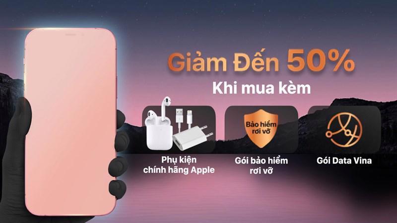 Chuỗi cửa hàng di động khuyến mãi giảm giá 50% khi mua phụ kiện dành cho iPhone mới ra mắt.