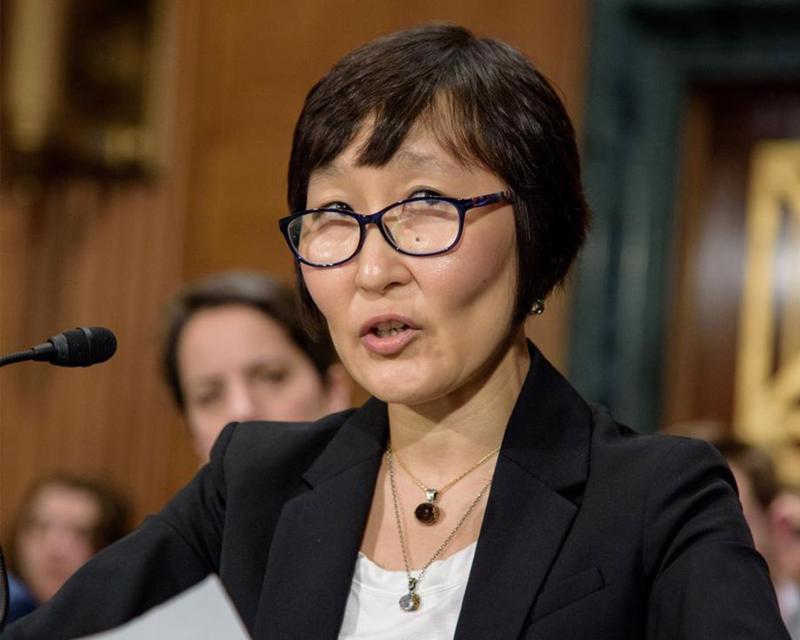 Giáo sư Saule Omarova - Ảnh: Bloomberg