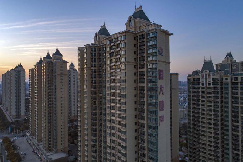 Một dự án của Evergrande ở thành phố Hoài An, Trung Quốc - Ảnh: Getty/Bloomberg.