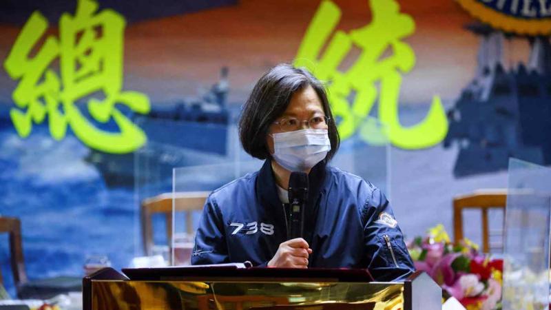 Bà Thái Anh Văn, nhà lãnh đạo chính quyền Đài Loan - Ảnh: Reuters