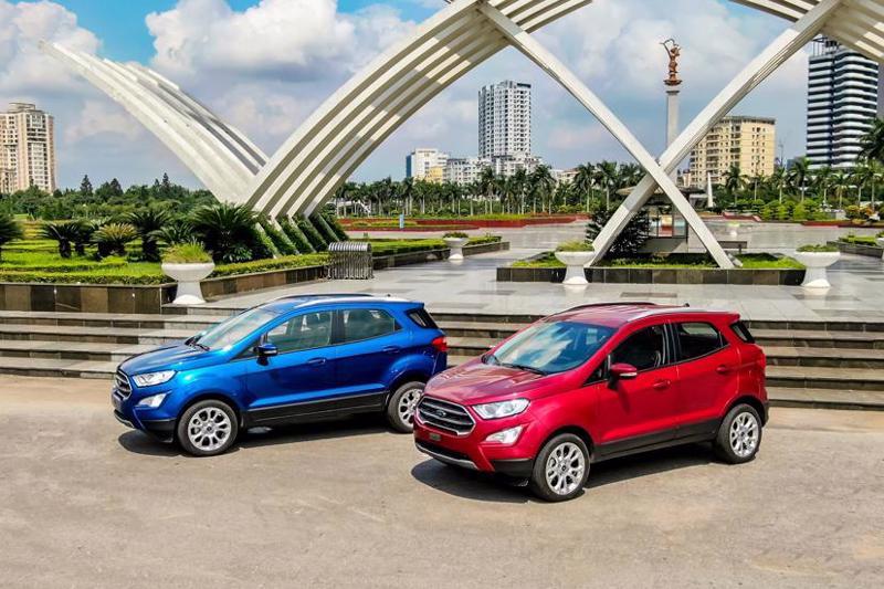 Hơn 300 xe Ford EcoSport phải triệu hồi do xuất hiện cảnh báo lỗi và ảnh hưởng đến hoạt động của túi khí