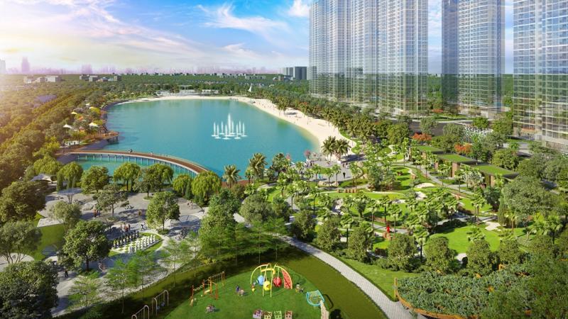 Dự án Imperia Smart City với hệ tiện ích sẵn trong Đại đô thị phía Tây Hà Nội.